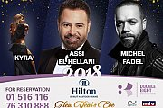 Assi Hellani, Michel Fadel, Kyra | New Year's Eve 2018