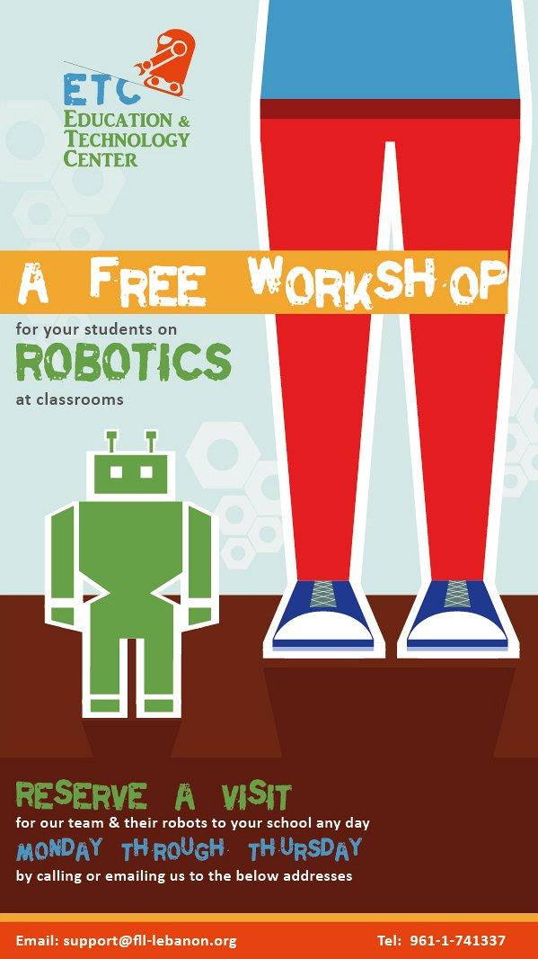 Free Workshops On Robotics Lebtivity