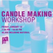 Candle Making Workshop with Johnny