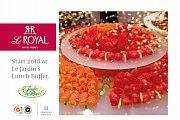 Royal Lunch at Le  Royal Hotel