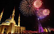 New Year's Eve in Downtown Beirut