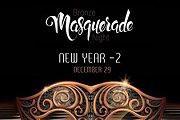 Bronze Masquerade Night - New Year -2