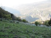 Hiking in Jabal Moussa Reserve with Footprints Nature Club