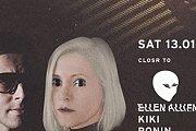 CLOSR to: Ellen Allien, Kiki, Ronin, Jason Kaakoush