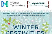 All Girls Code Winter Festivities!