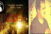 Joe Guitar at Guitar Studio Club Pub