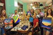 Paint And Drink Night at Joon on the Moon