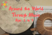 Around the World Through Music Ages 6-9