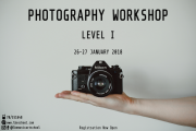 PHOTOGRAPHY WORKSHOP Level I at La Belle Epoque