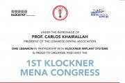 1ST Klockner MENA Congress