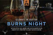 Celebrating the Scottish Single Malt Whisky - Robert Burns' Day