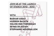 STARCH 2012-2013 DESIGNERS' LAUNCH