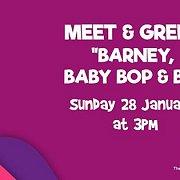 meet greet barney baby bop bj lebtivity