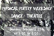 Physical Poetry Workshop