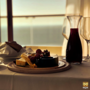 Cheese & Wine with a View at BURJ on BAY Hotel