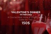 Valentine's Dinner at Verseine - The Bridge