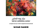Art Exhibition by Nizar Daher