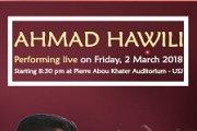 AHMAD HAWILI PERFORMING LIVE