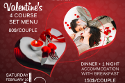 Valentine's Dinner at Lamedina Hotel