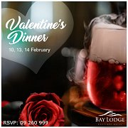 Valentine's Dinner at Bay Lodge Boutique Hotel