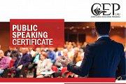 Public Speaking Certificate