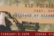 Concert: Kid Fourteen feat. Shams - Followed by Essabagh