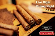 Live Cigar Rolling Night at Wall Street Bar & Grill