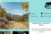 Baskinta Literary Trail with Cedar Wolves