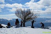 Laqlouq Snowshoeing VT