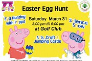 Easter Egg Hunt at the Golf Club of Lebanon