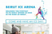 Ice Skating at Beirut Ice Arena