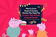 Meet & Greet Peppa Pig, Georges, Mami Pig, Papi Pig