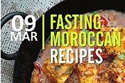 Fasting Moroccan Recipes at Laminas Kitchen