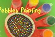 Pebbles Painting at Hands-On