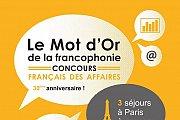 Le Mot d'Or de la Francophonie 2018