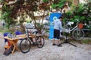 Badaro Pop-up Bike Station (Maintenance, Rental, Test Ride)