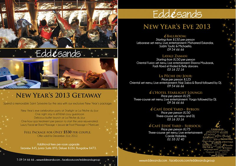 Edde Lebtivity At 2013 New Year Eve Sands « wBqAI