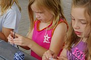 Kids Crocheting Session at Glamour Spirit