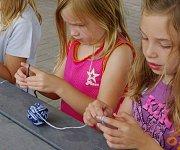 Kids Crocheting Session at Glamour Spirit