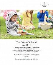 Easter At Candelabra Kempinski Summerland