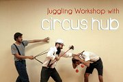 Free Juggling Workshop with Circus Hub