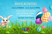 Easter Activities at Funscape
