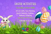 Easter Activities at Funscape Lb