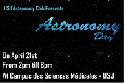 Astronomy Day at USJ