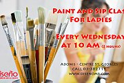 Paint and Sip Class for Ladies