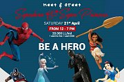 Meet & Greet Superheroes and Super Princess
