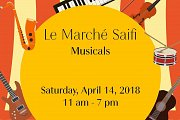 "Petals and Flutter at ""Le Marche Saifi Musicals"" in Saifi Village"