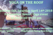 Sunset Yoga with Jennifer Aoun