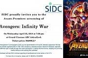 Avengers: Infinity War - Avant Première