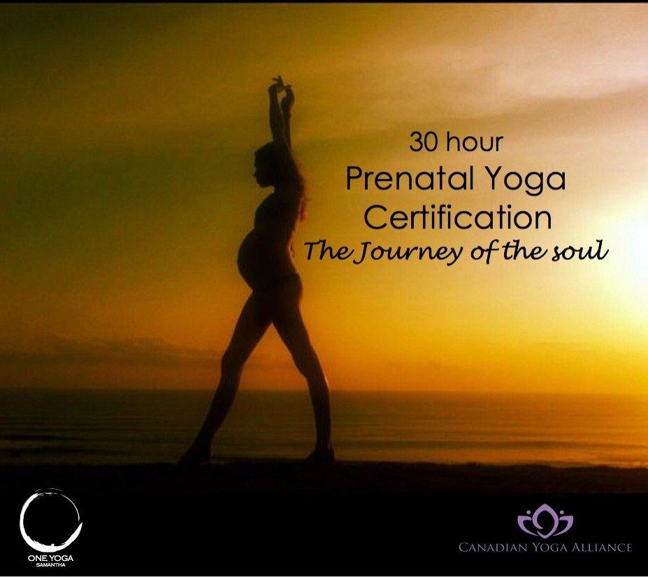 Prenatal Yoga Certification Intensive Lebtivity